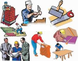 Homens trabalhando